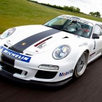 Porsche 911 GT3 Cup 997 front track