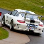 Porsche 911 GT3 Cup 997 rear track