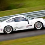 Porsche 911 GT3 Cup 997 side track