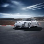 Porsche 911 GT3 Cup S 996 front low side track