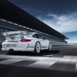 Porsche 911 GT3 Cup S 996 rear low track