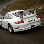 Porsche 911 GT3 Cup S 996 rear track
