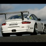 Porsche 911 GT3 Cup S 997 rear low angle