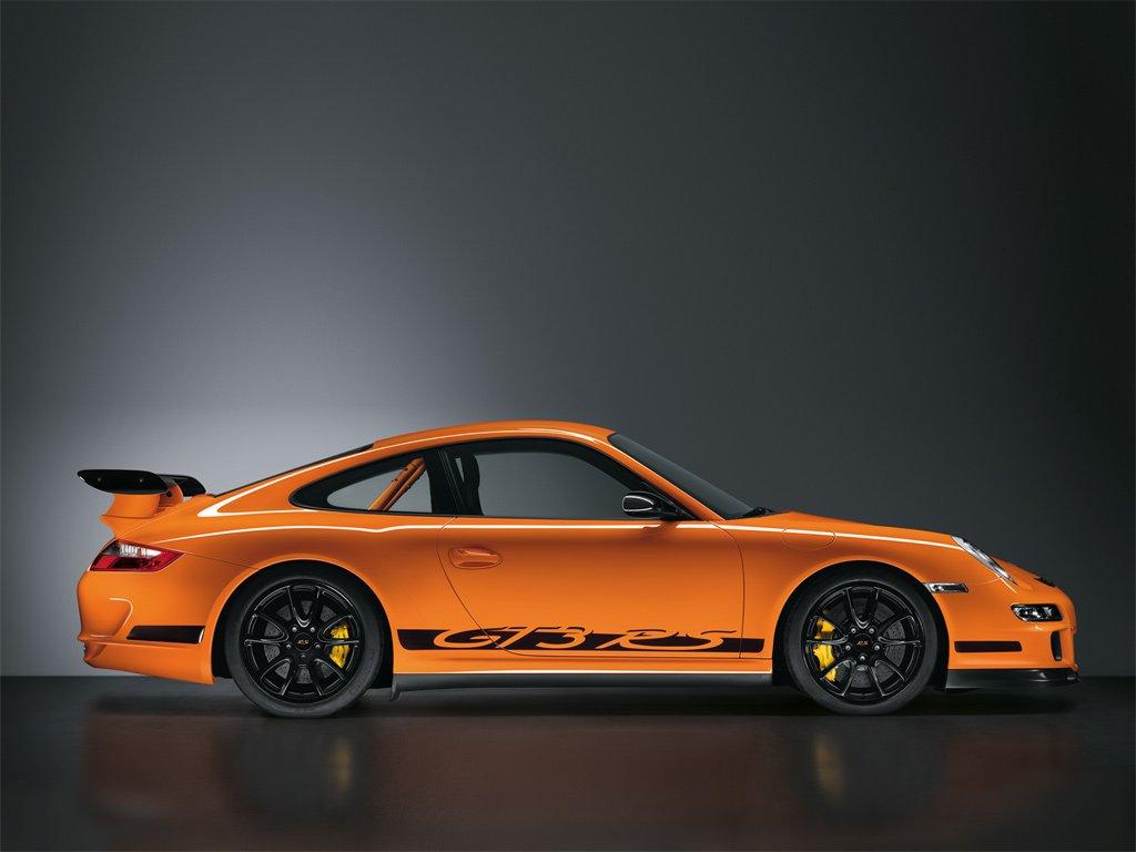 porsche 911 gt3 rs 997 black orange profile revival sports cars. Black Bedroom Furniture Sets. Home Design Ideas