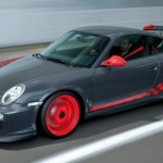 Porsche 911 GT3 RS 997 black red