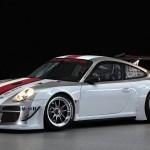 Porsche 911 GT3 RSR 997 front studio