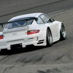 Porsche 911 GT3 RSR 997 low rear track