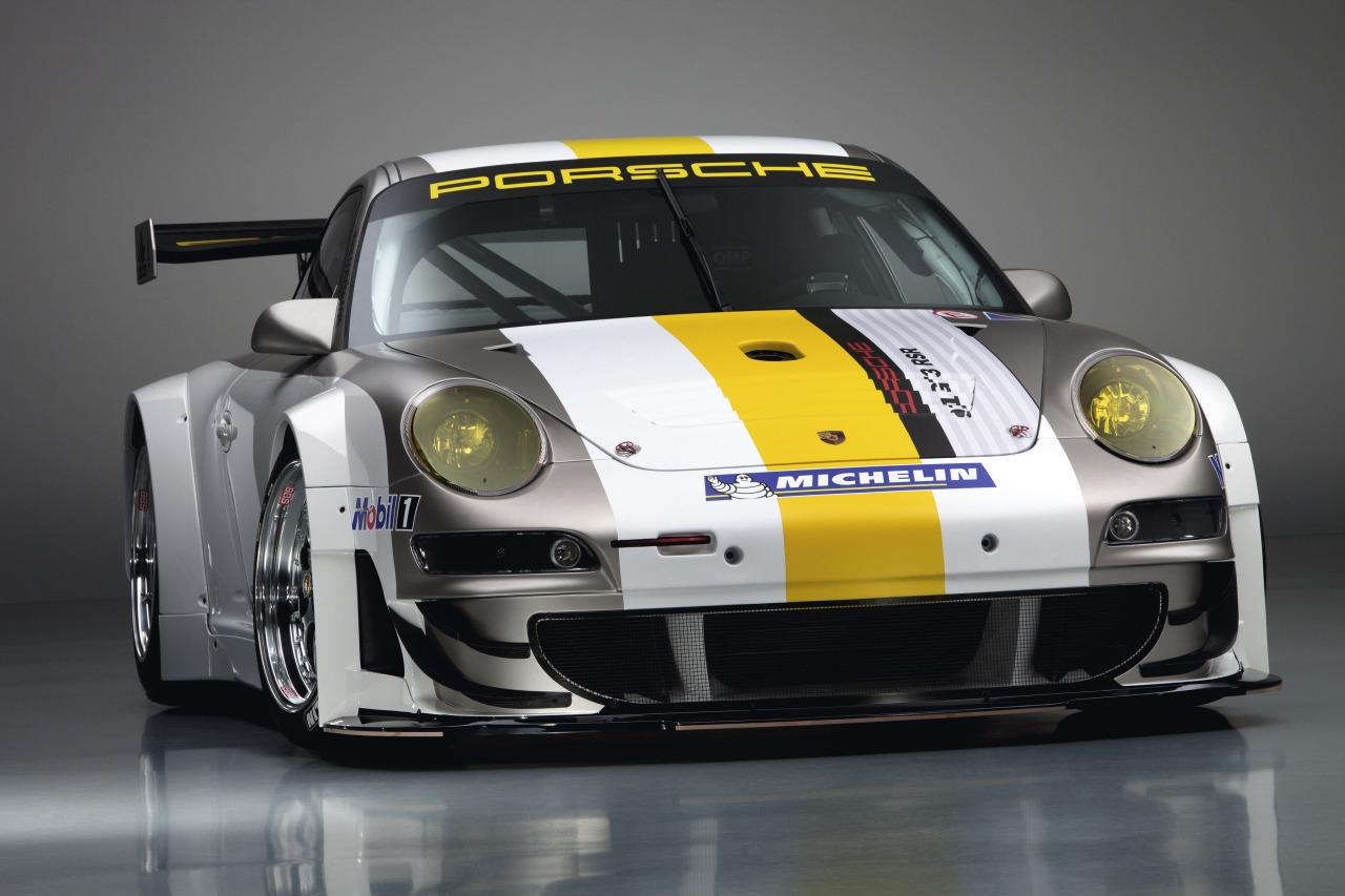 Porsche Of Silver Spring >> Porsche 911 GT3 RSR 997 silver white front profile angle
