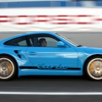 Porsche 911 turbo blue 2 997 track motion