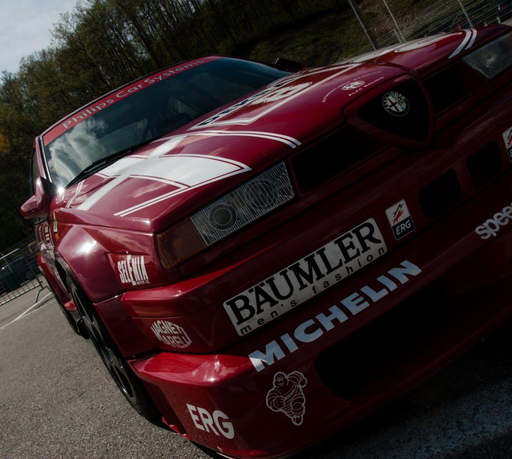 Alfa Romeo 155 2.5 V6 TI DTM 1993 Touring Car Front