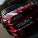 Alfa Romeo 155 2.5 V6 TI DTM 1993 Touring Car front closeup (1280x1148)
