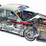 Alfa Romeo 155 2.5 V6 TI DTM 1993 Touring Car illustration (1280x706)