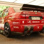 Alfa Romeo 155 2.5 V6 TI DTM 1993 Touring Car rear closeup