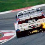 Alfa Romeo 155 2.5 V6 TI DTM 1993 Touring Car rear flame (890x594)