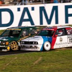BMW M3 EVO & Mercedes 190 AMG Touring Car front rubbing (672x448)