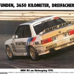 BMW M3 EVO Touring Car poster rear karussel nurburgring (1024x719)