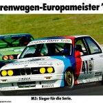 BMW M3 EVO Touring Car poster yellow (1024x722)