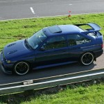 Ford Escort Cosworth Modified blue alloy wheels