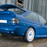Ford Escort Cosworth Modified blue alloy wheels ronals
