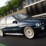Ford Escort Cosworth Modified blue speed stolen