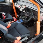 Ford Sierra Cosworth 3 door trackcar interior drivers cabin