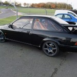 Ford Sierra Cosworth 3 door trackcar profile
