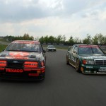 Ford Sierra Cosworth & Mercedes 190 AMG Touring Car front rubbing (600x400)