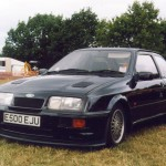 Ford Sierra RS500 black front low cosworth
