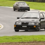 Ford Sierra RS500 black front low cosworth trackday black
