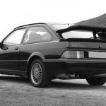 Ford Sierra RS500 black rear low