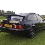 Ford Sierra RS500 black rear low cosworth trackday black