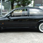 Ford Sierra RS500 cosworth black bbs centre caps missing street spec
