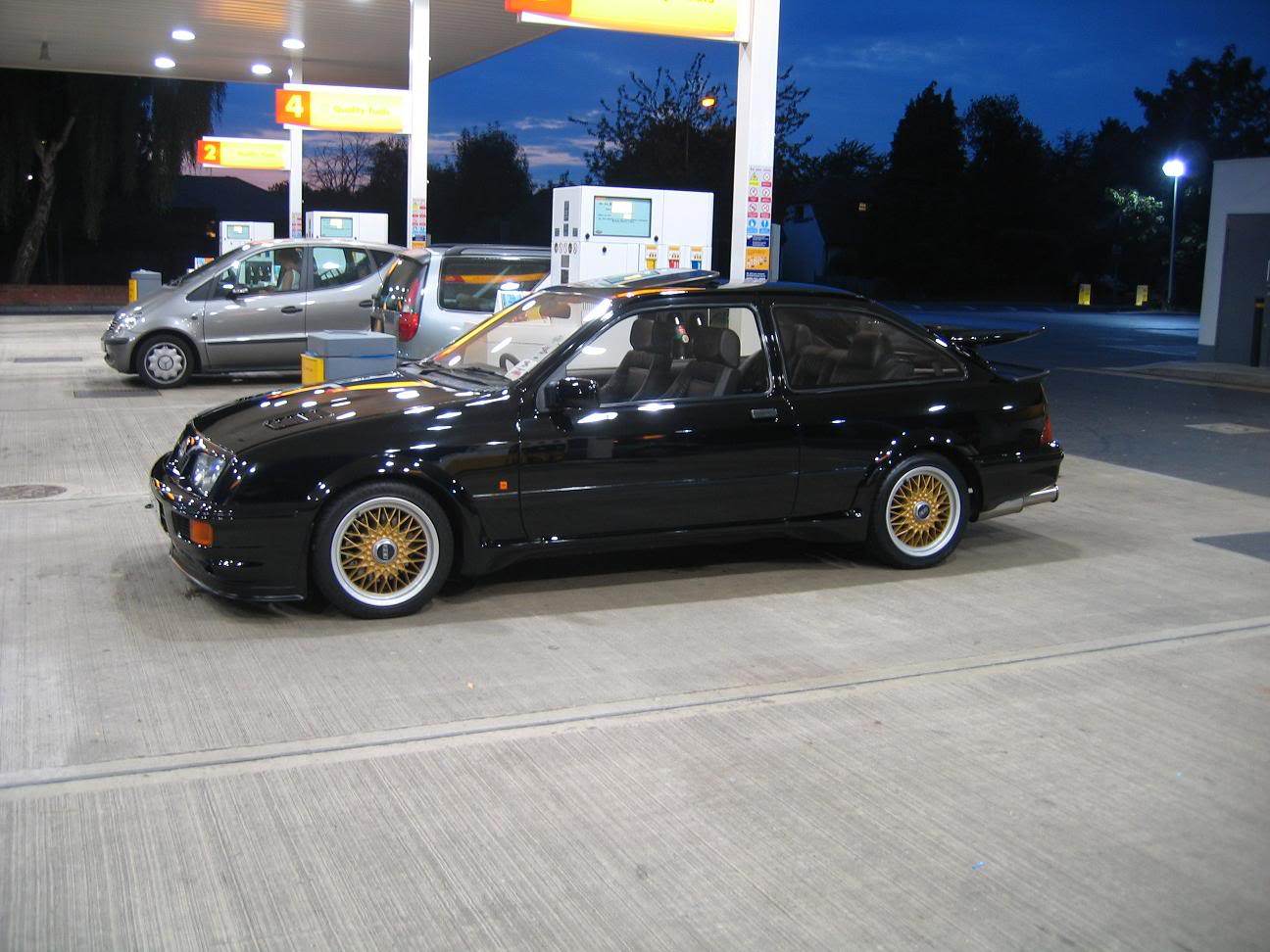Mercedes Benz Of Lancaster >> Ford Sierra RS500 cosworth black bbs gold street spec   Revival Sports Cars