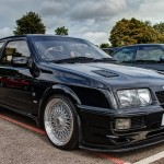 Ford Sierra RS500 cosworth black bbs shine stunning