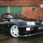Ford Sierra RS500 cosworth black shine