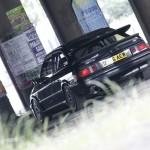 Ford Sierra RS500 cosworth black underground graffiti rear