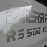 Ford Sierra RS500 cosworth decal sign