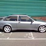 Ford Sierra RS500 cosworth grey street spec profile