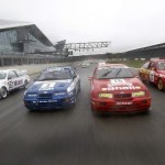 Ford Sierra RS500 cosworth touring car lineup track