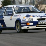 Ford Sierra RS500 cosworth touring car white blue