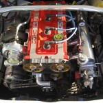 Ford Sierra RS500 cosworth white immaculate engine bay front