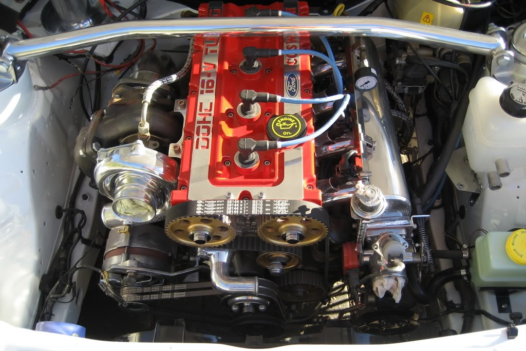 Ford Sierra Rs500 Cosworth White Immaculate Engine Bay