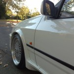 Ford Sierra RS500 cosworth white immaculate low front bbs wheel