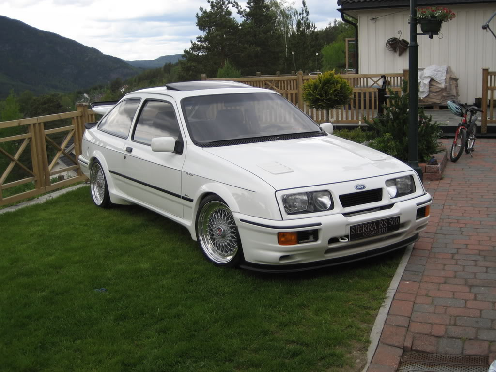 Ford Sierra Rs500 Cosworth White Immaculate Low Front
