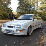 Ford Sierra RS500 cosworth white immaculate low front street