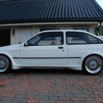 Ford Sierra RS500 cosworth white immaculate low profile