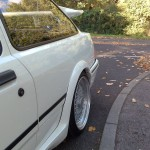 Ford Sierra RS500 cosworth white immaculate low rear bbs wheel