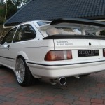 Ford Sierra RS500 cosworth white immaculate low rear driveway