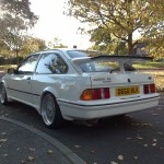 Ford Sierra RS500 cosworth white immaculate low rear street