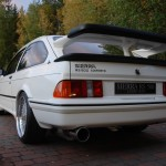 Ford Sierra RS500 cosworth white immaculate low rear tail